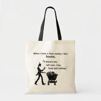 I Buy Books Tote Bag