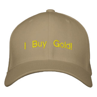 """I Buy Gold"" hat Embroidered Cap"