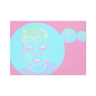 I C U Bubble Boy Canvas Print