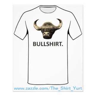 I Call Bull Shirt 11.5 Cm X 14 Cm Flyer