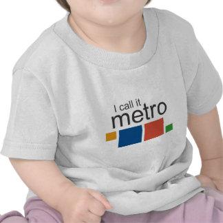 I Call It Metro Tshirt