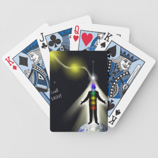 I Call Light 2 Bicycle Playing Cards
