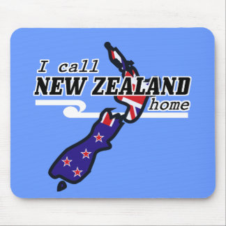 I Call New Zealand Home Mousepad