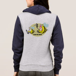 I Call the Shots Bees Personalized Hoodie