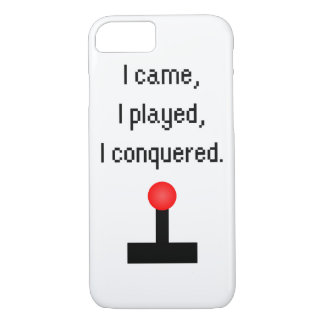 I Came I Played iPhone 7 Case