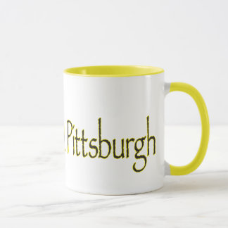 I CAME...I SAW...WOW...PITTSBURGH MUG