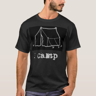 I Camp Blk T-Shirt