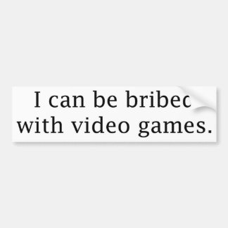 I Can Be Bribed With Video Games