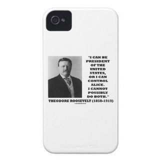 I Can Be President Of The United States Or Control iPhone 4 Case-Mate Cases