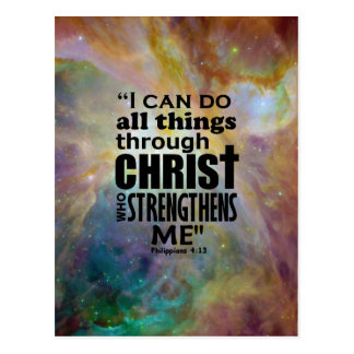 I can do all things postcard