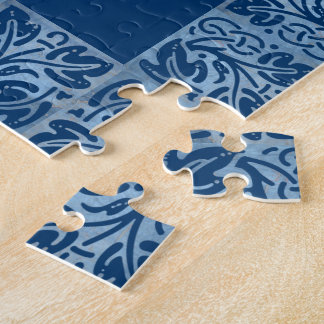 I Can Do All Things Through Christ Blue Puzzle