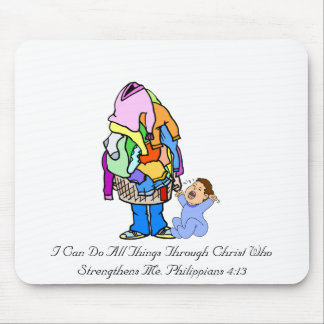 I Can Do All Things Through Christ Mouse Pad