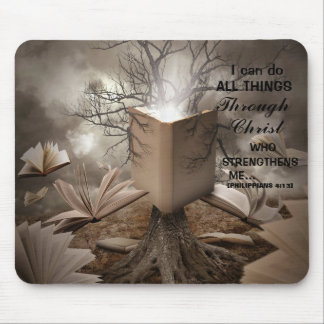 """""""I CAN DO ALL THINGS THROUGH CHRIST"""" MOUSEPAD"""