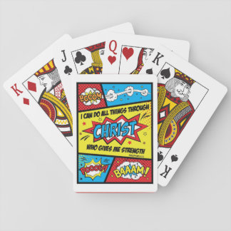 I can do all things through Christ Playing Cards