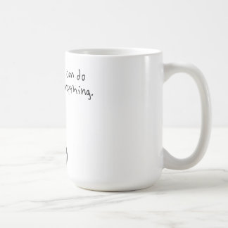 I can do anything. basic white mug