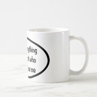 I can do anything basic white mug