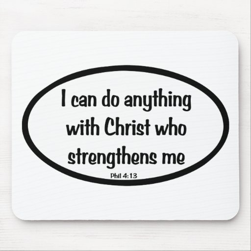 I can do anything mousepad