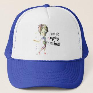 I can do Baseball in my Stiletto's! Fun Digital Ar Trucker Hat