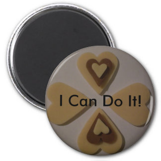 I Can Do It! 6 Cm Round Magnet