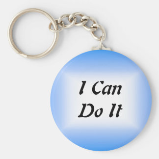 I Can Do It Keychain