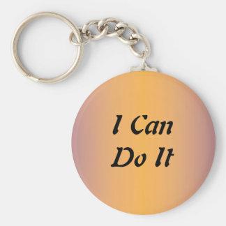 I Can Do It Keychain