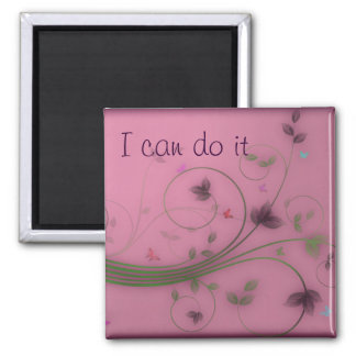 I can do it square magnet