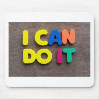 i can do it mouse pad