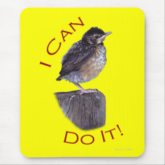 I Can Do It Mousepads