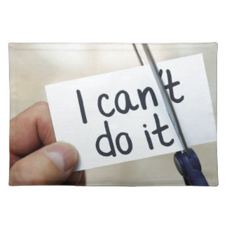 I can do it placemat