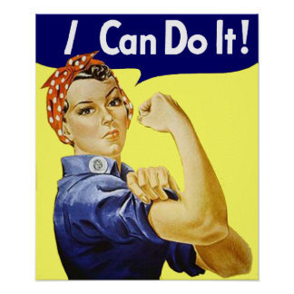 I Can Do It Poster