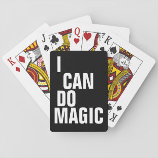 I can do magic playing cards