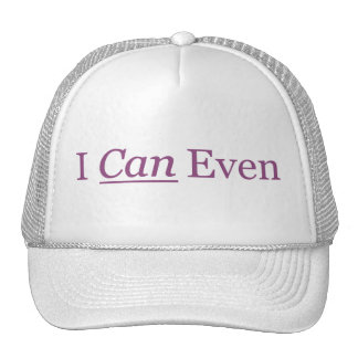 I CAN Even Mesh Hat