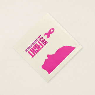 I can fight breast cancer- support women disposable napkin