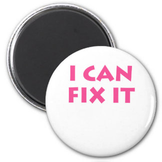 I Can Fix It 6 Cm Round Magnet