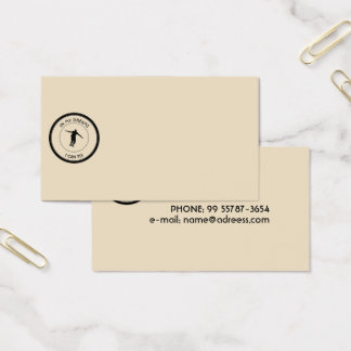 I CAN FLY BUSINESS CARD