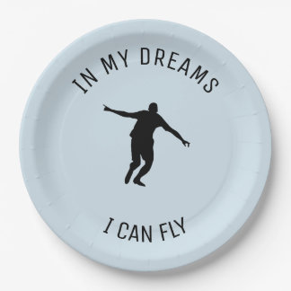 I CAN FLY PAPER PLATE