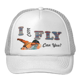 I CAN FLY SWIM HAT