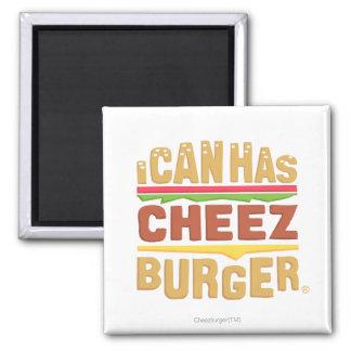 I Can Has Cheezburger Square Magnet