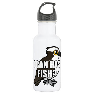 I Can Has Fish? 532 Ml Water Bottle