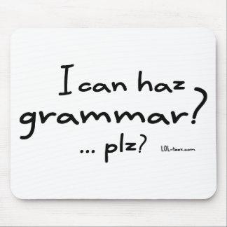 I Can Haz Grammar? Mouse Pad