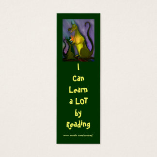 I Can Learn (dragon) bookmark Mini Business Card