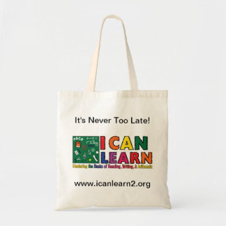 I Can Learn - It's Never Too Late Bag