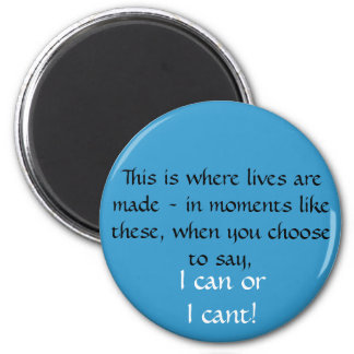I can 6 cm round magnet