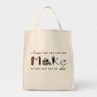 I can make that - crafter / maker tote bag