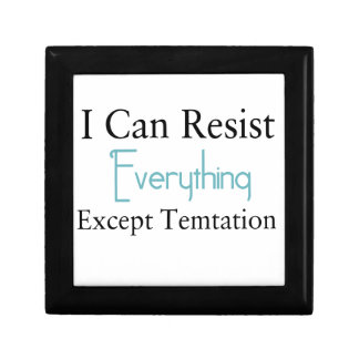 I Can Resist Everything Except Temptation Gift Box