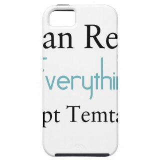 I Can Resist Everything Except Temptation iPhone 5 Covers