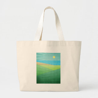 I Can See The Beach Canvas Bags