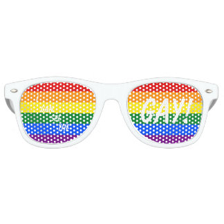 """""""I CAN SEE THE GAY!"""" Party Glasses"""