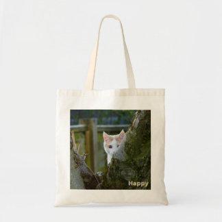 """I can see you"" by Happy Tote Bag"