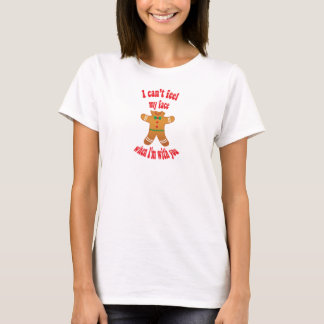 I can't feel my face - funny Christmas gingerbread T-Shirt